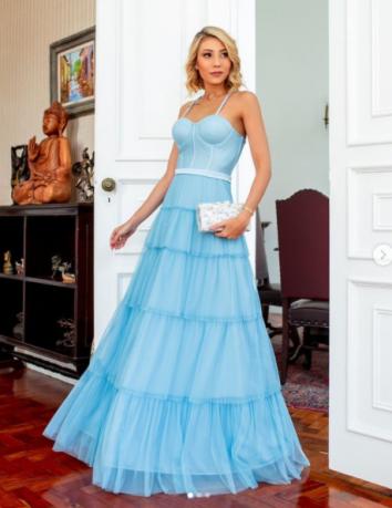 Vestido Holanda Azul serenity