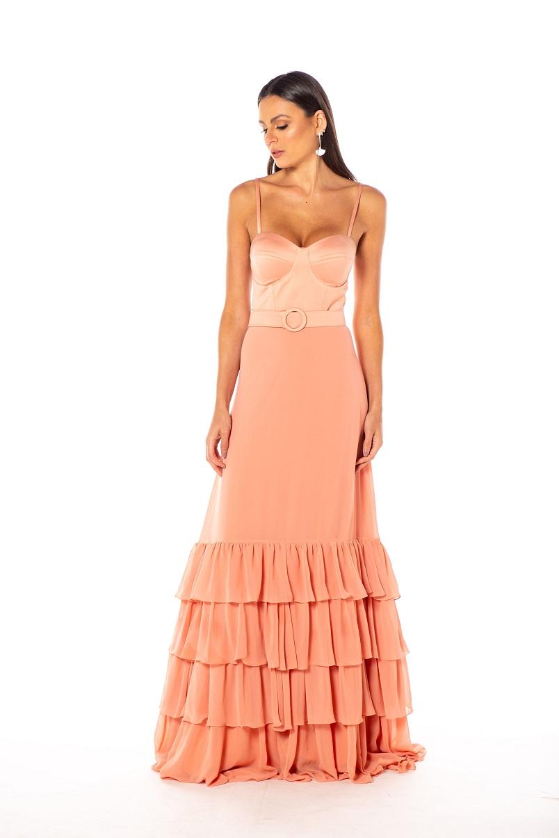 Vestido Holanda Rosé