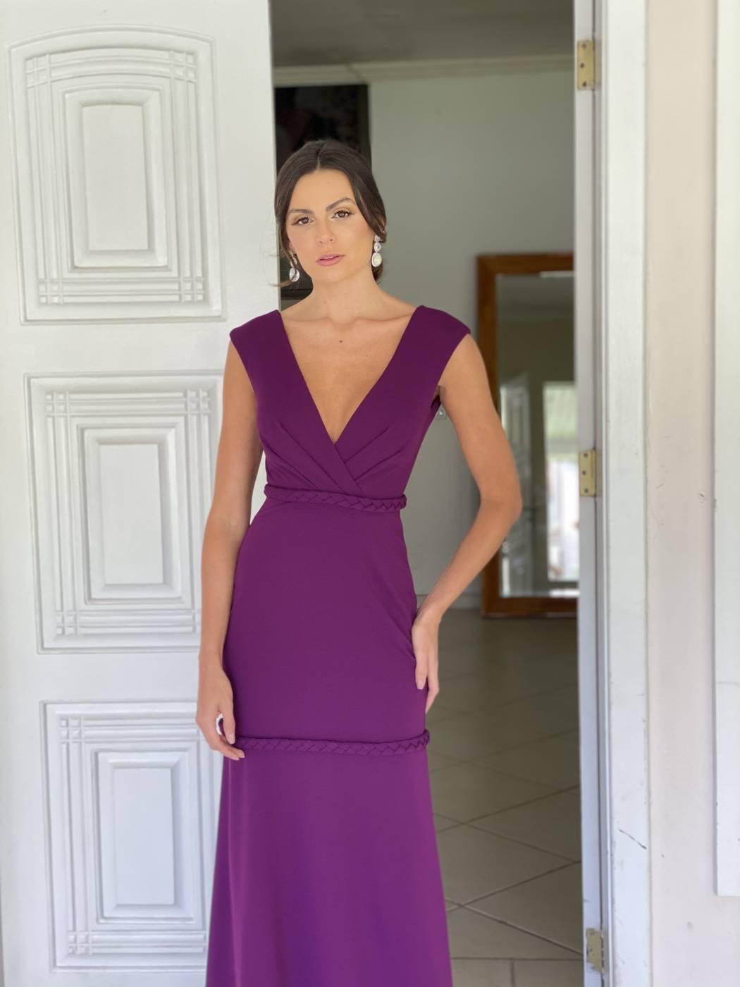 Vestido Ibiza Roxo