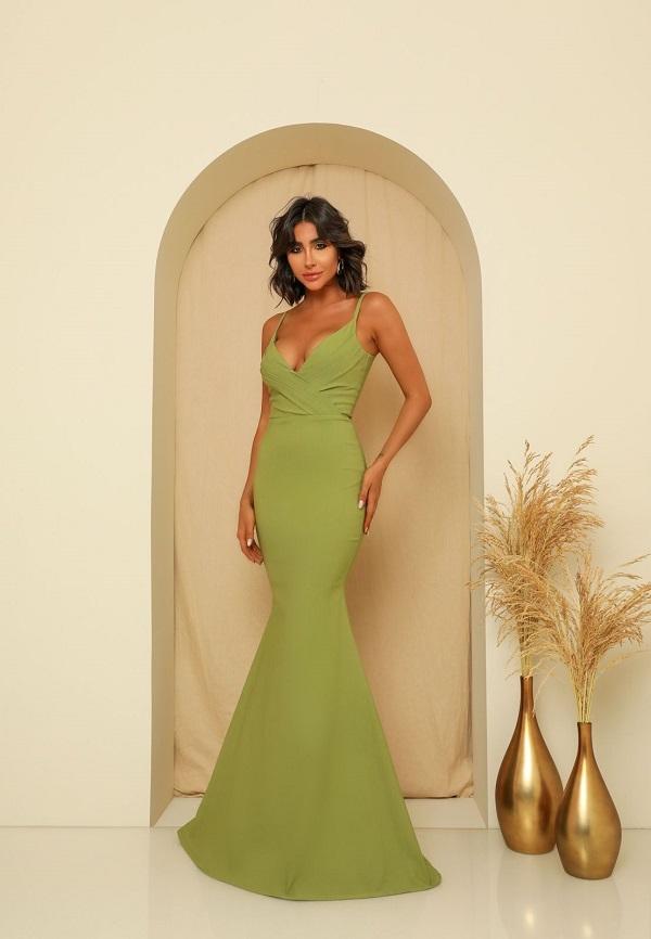 Vestido Ibiza Verde Oliva