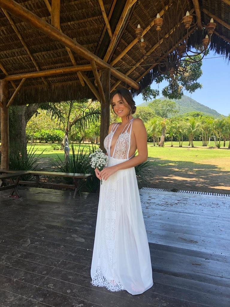 Vestido Itaparíca branco