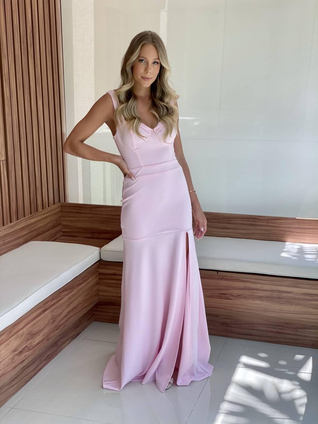 Vestido Itatiaia Rosé