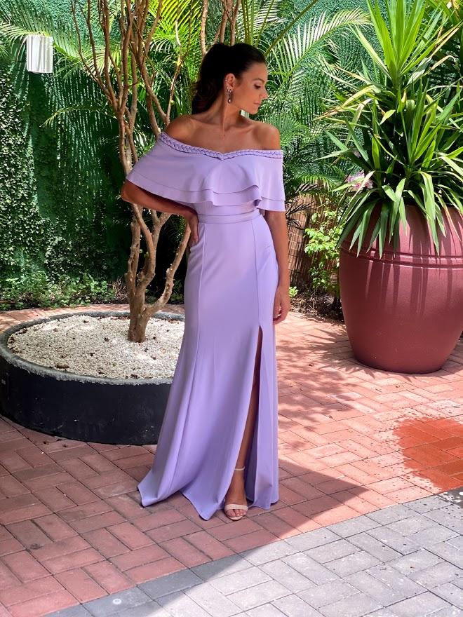 Vestido Kalahari Lilás