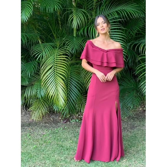 Vestido Kalahari  Marsala