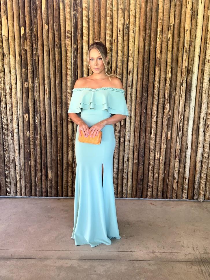 Vestido Kalahari Verde Menta