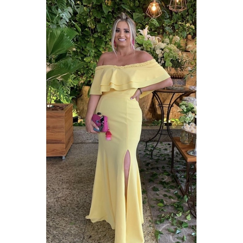 Vestido Kalahari Amarelo