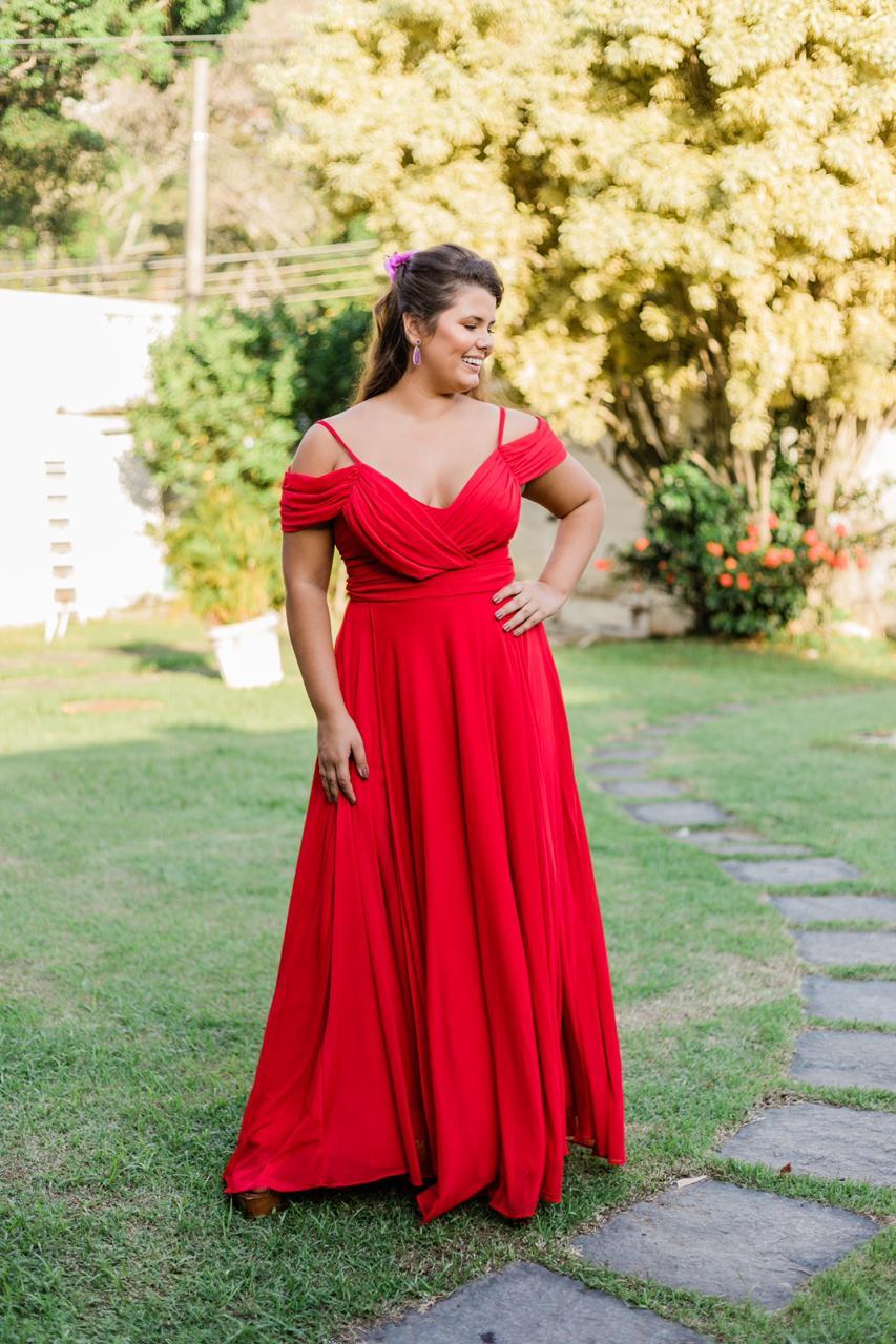 Vestido Liverpool Vermelho