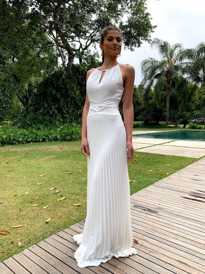 Vestido Lugano Branco