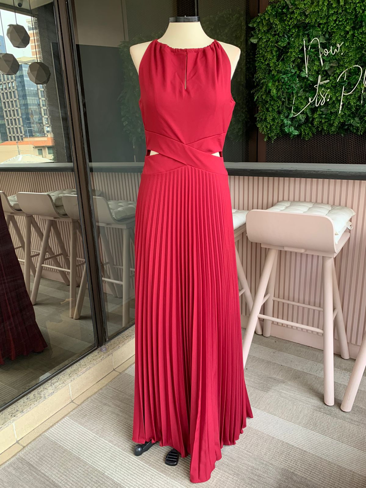 Vestido Lugano Marsala