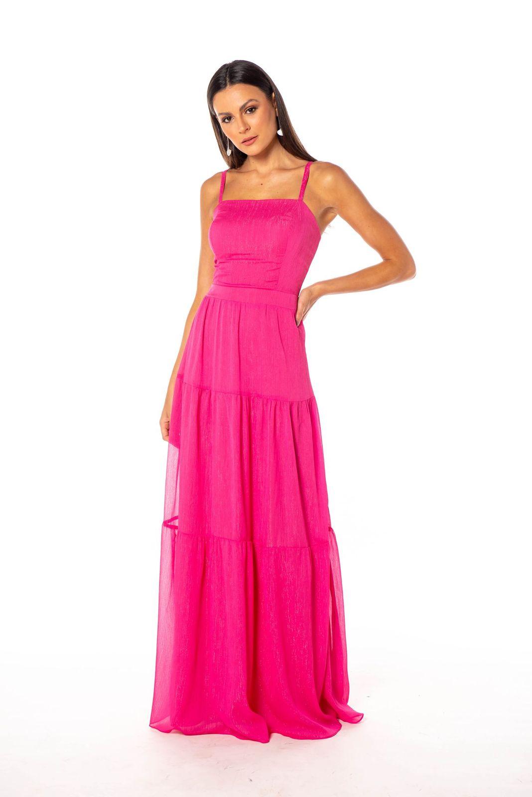 Vestido Macedônia Pink