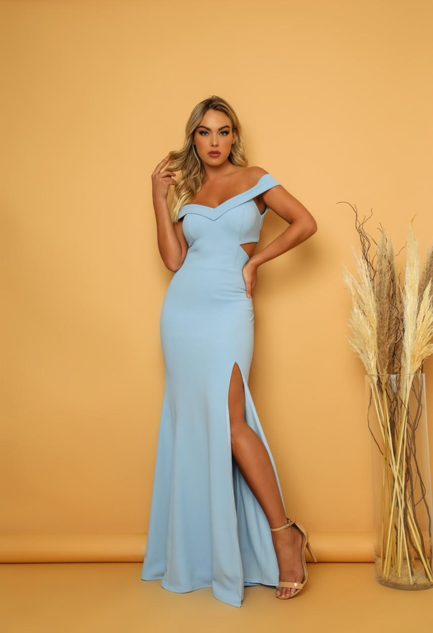 Vestido Malibu Azul Serenity