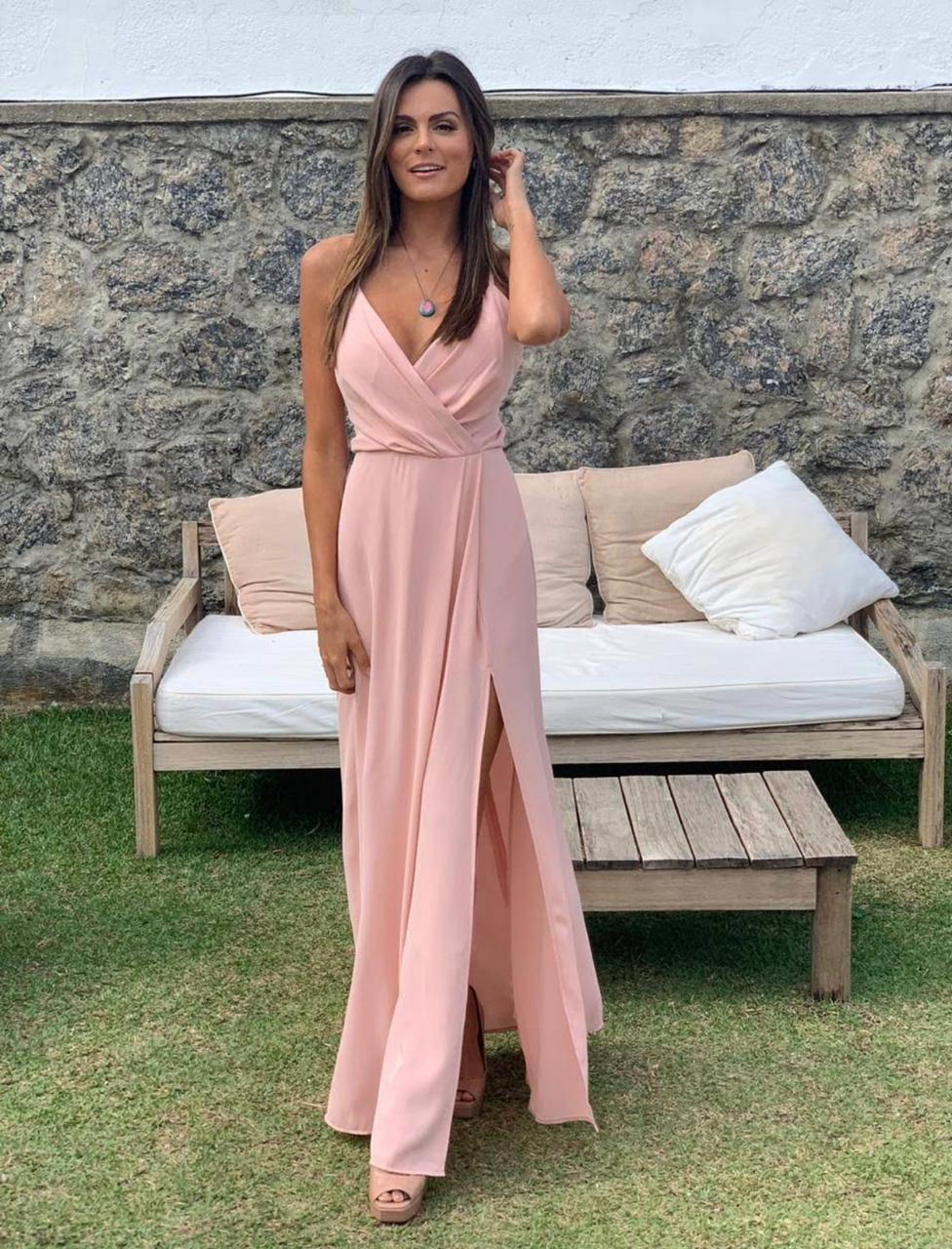 Vestido Manhattan rosé