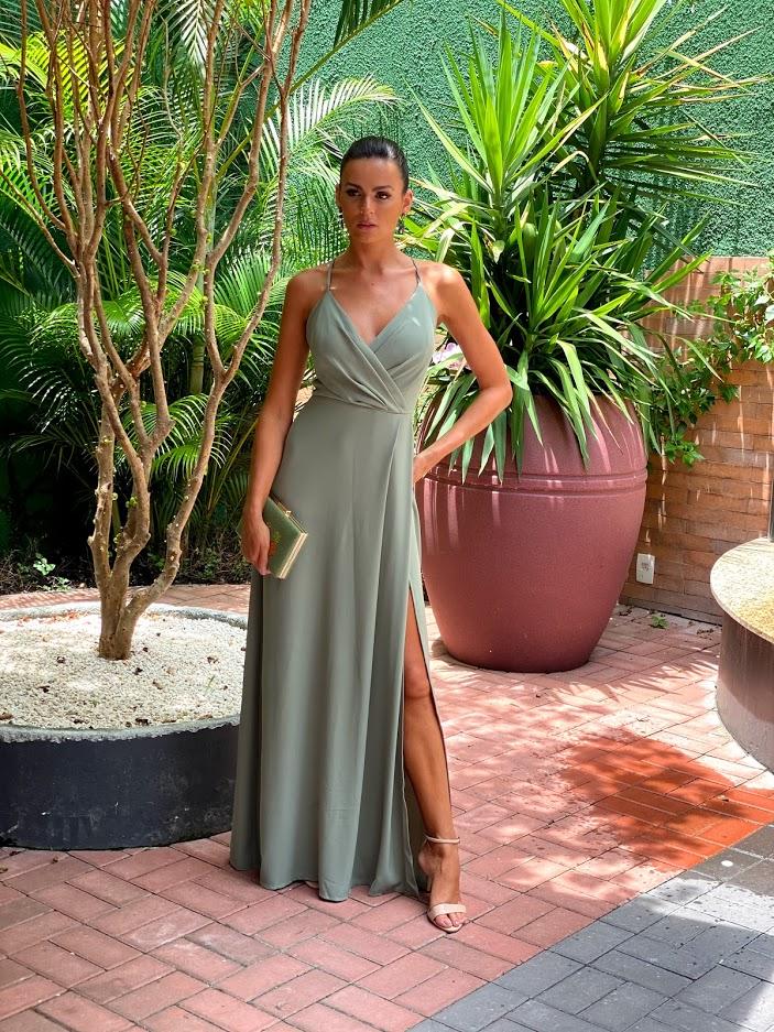 Vestido Manhattan Verde Oliva