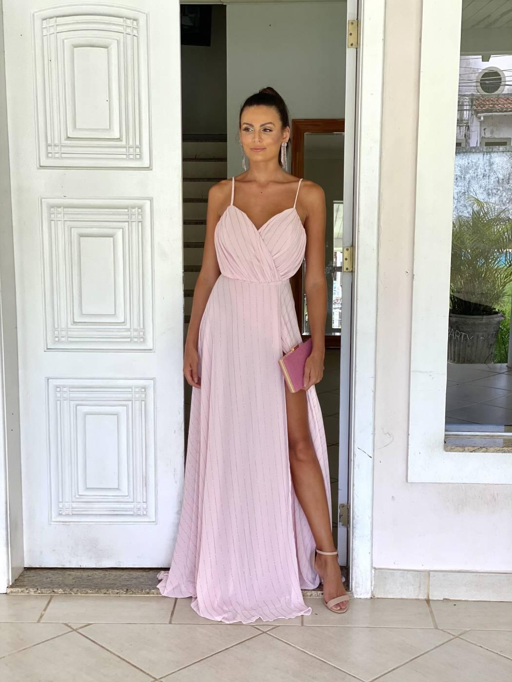 Vestido Mauá Rosé