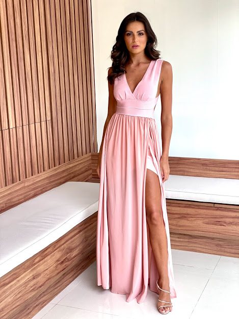 Vestido Milão Rose