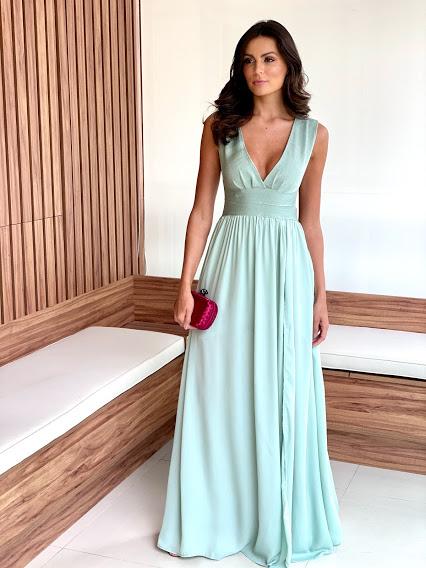 Vestido Milão Verde Menta