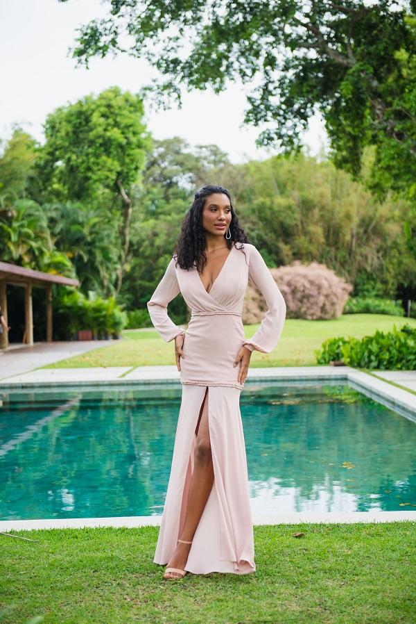 Vestido Minas Gerais Rosé