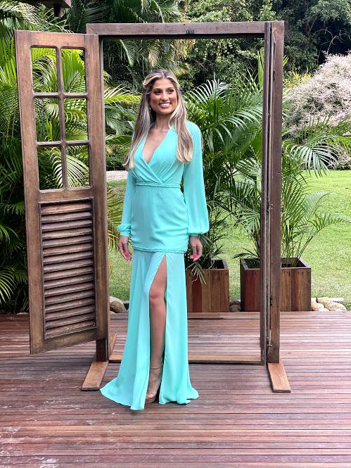 Vestido Minas Gerais Tiffany