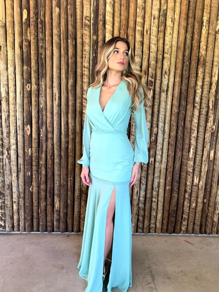 Vestido Minas Gerais Verde Menta