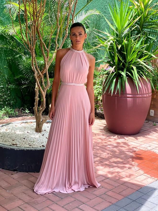 Vestido Mônaco Rosé