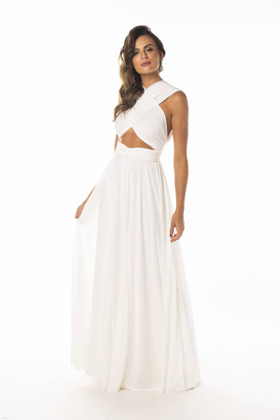 Vestido Multiformas Branco