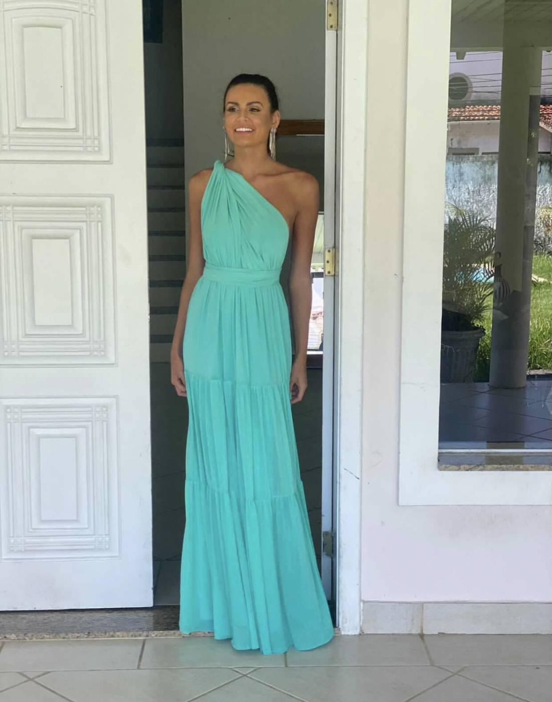 Vestido Multiformas camadas Tiffany