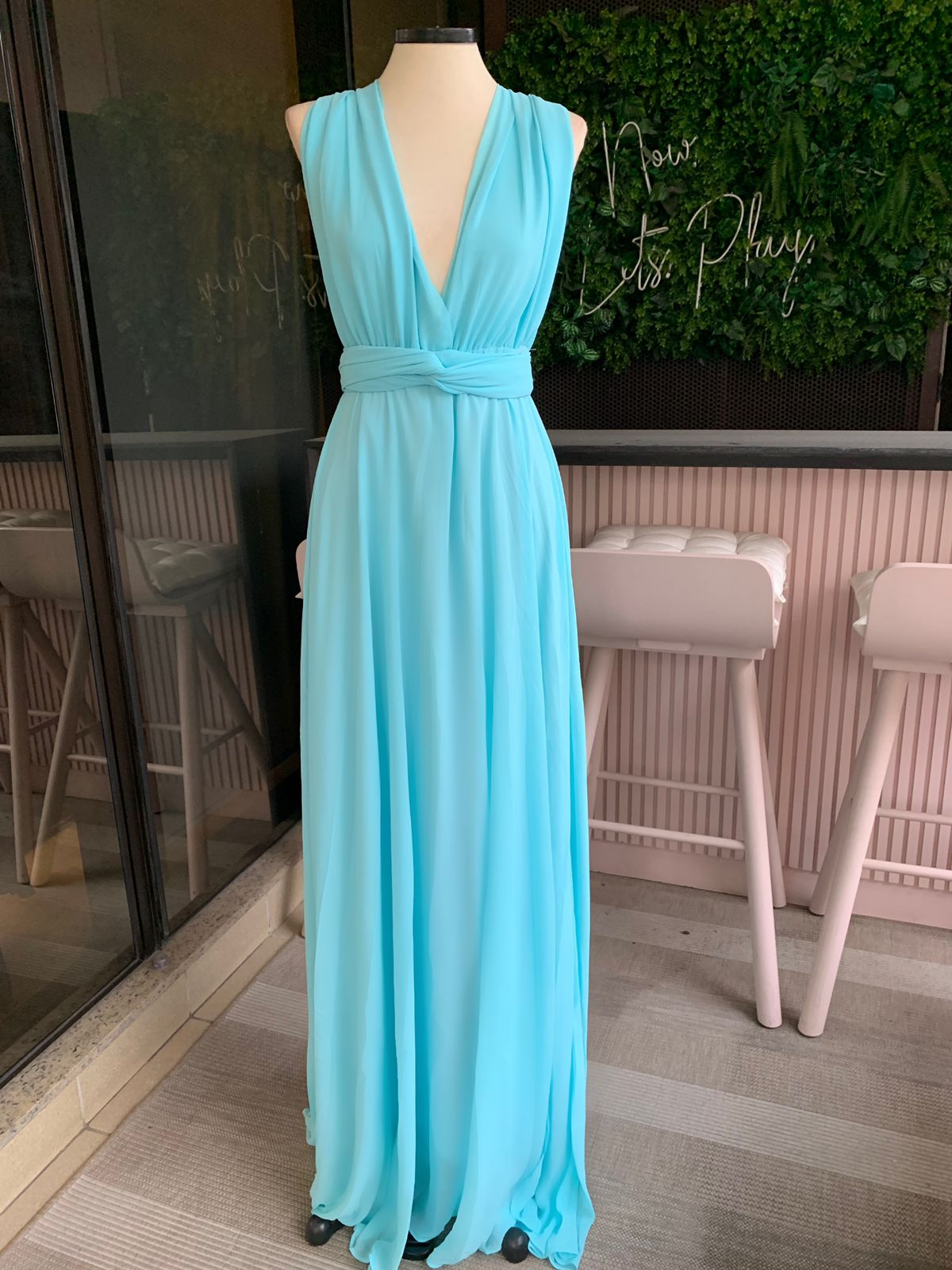 Vestido Multiformas Chifon Tiffany