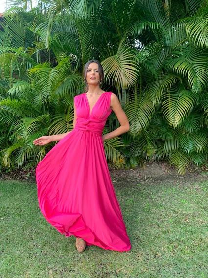 Vestido Multiformas Pink
