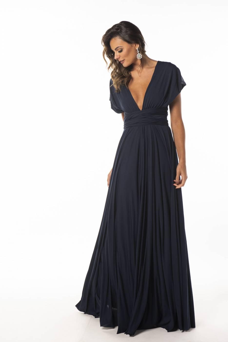 Vestido Multiformas preto