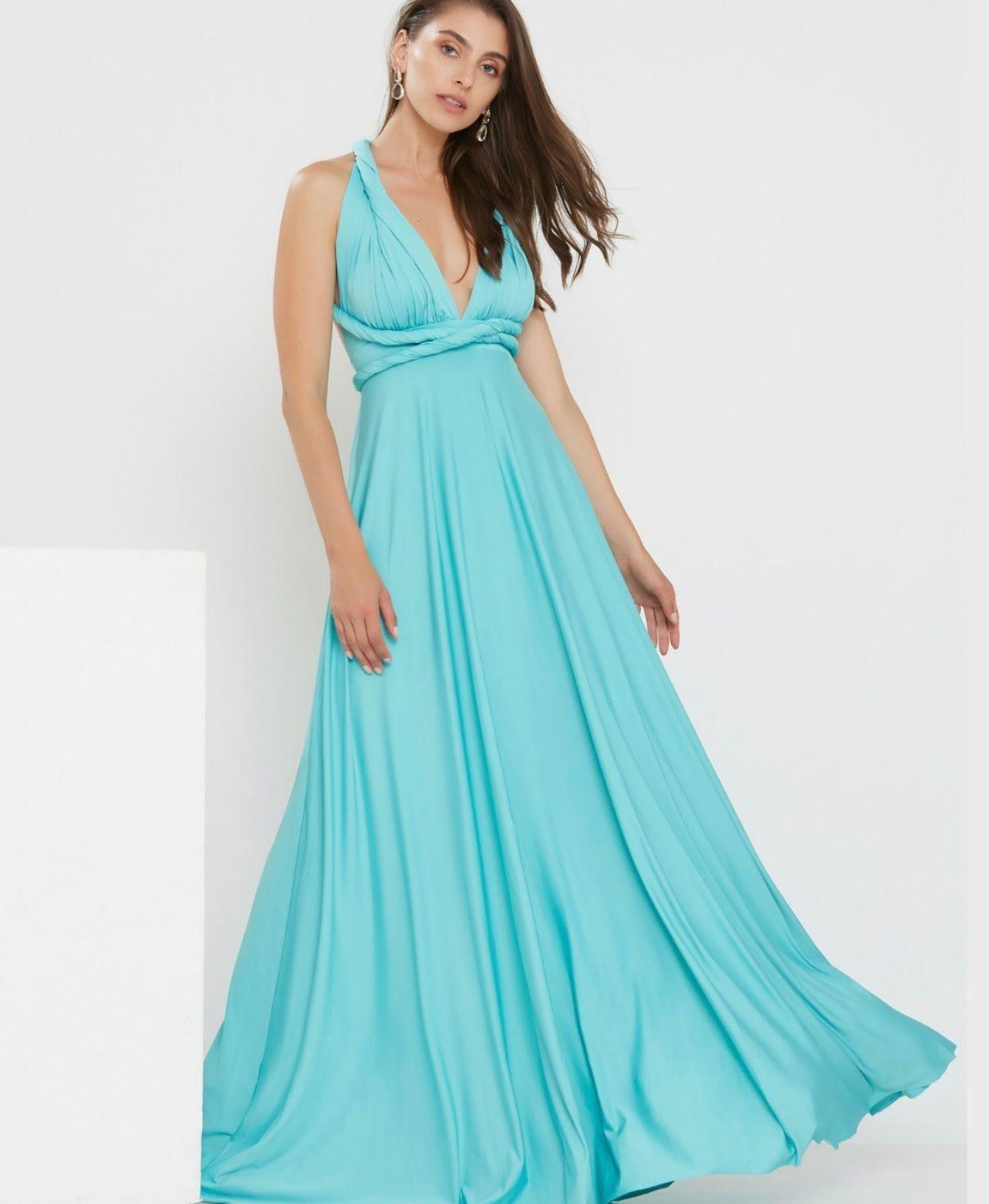 Vestido Multiformas Tiffany Único