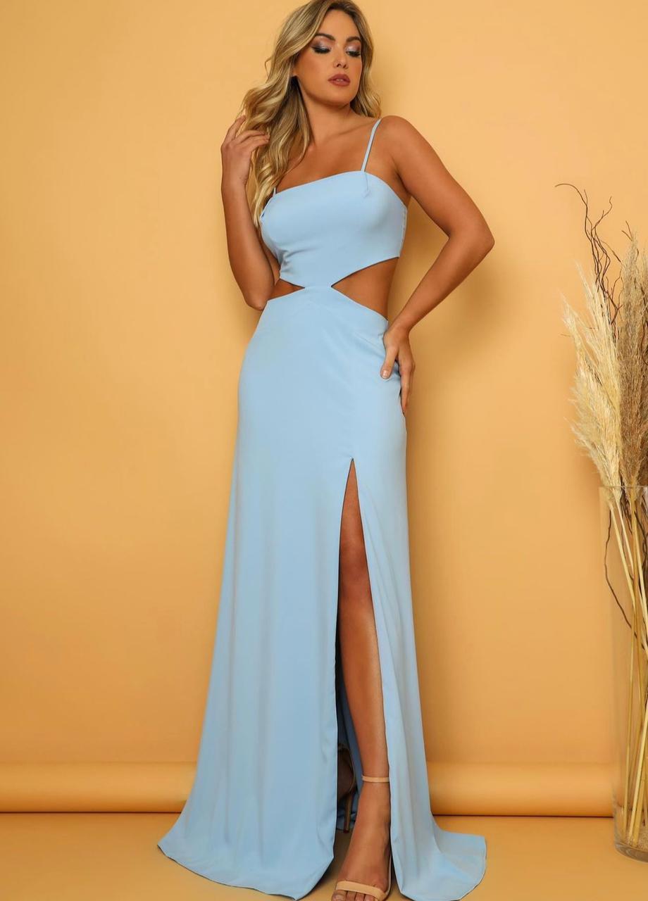 Vestido Napa Azul Serenity