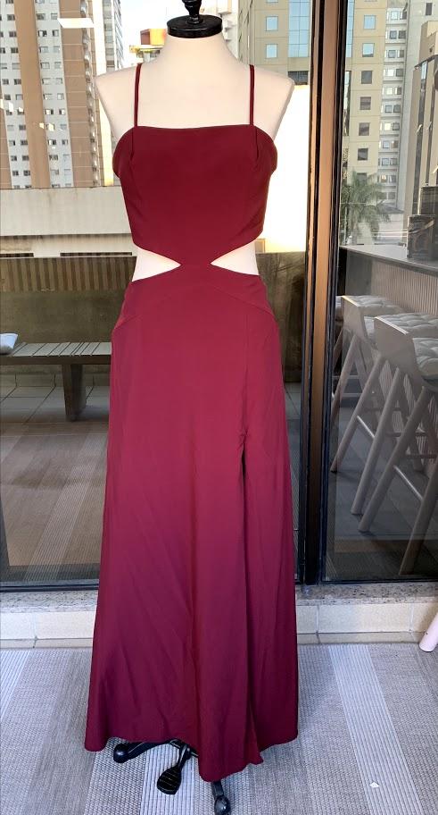 Vestido Napa Marsala