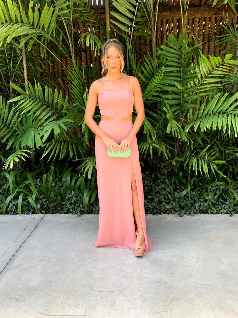 Vestido Napa Rosé