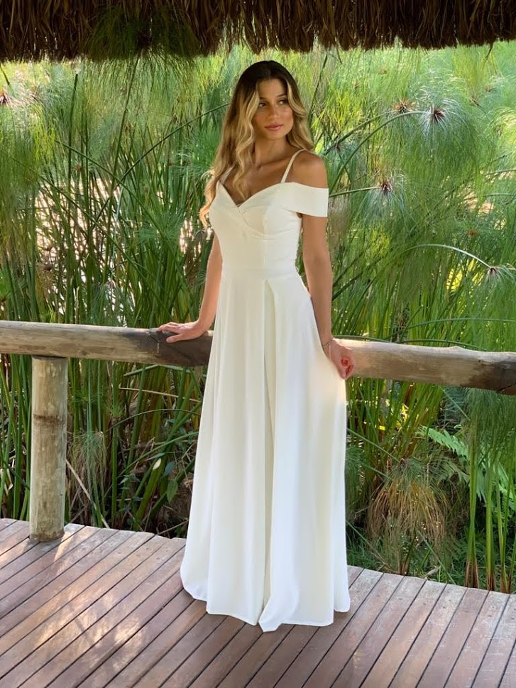 Vestido Nicarágua Branco