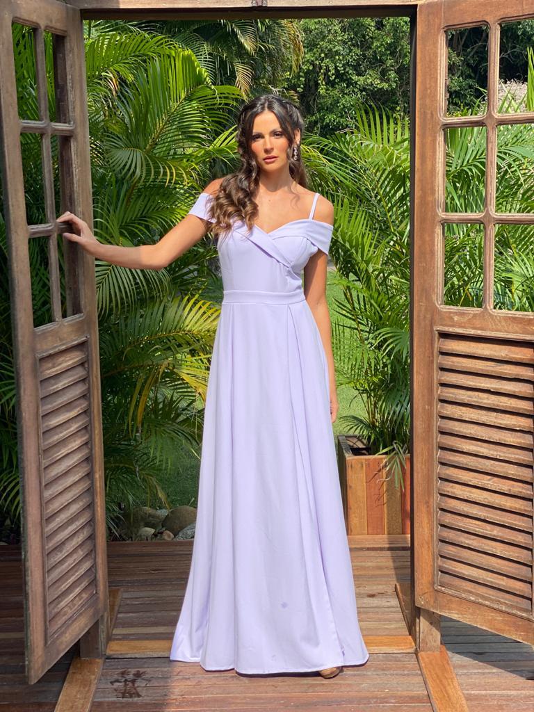 Vestido Nicarágua Lilás
