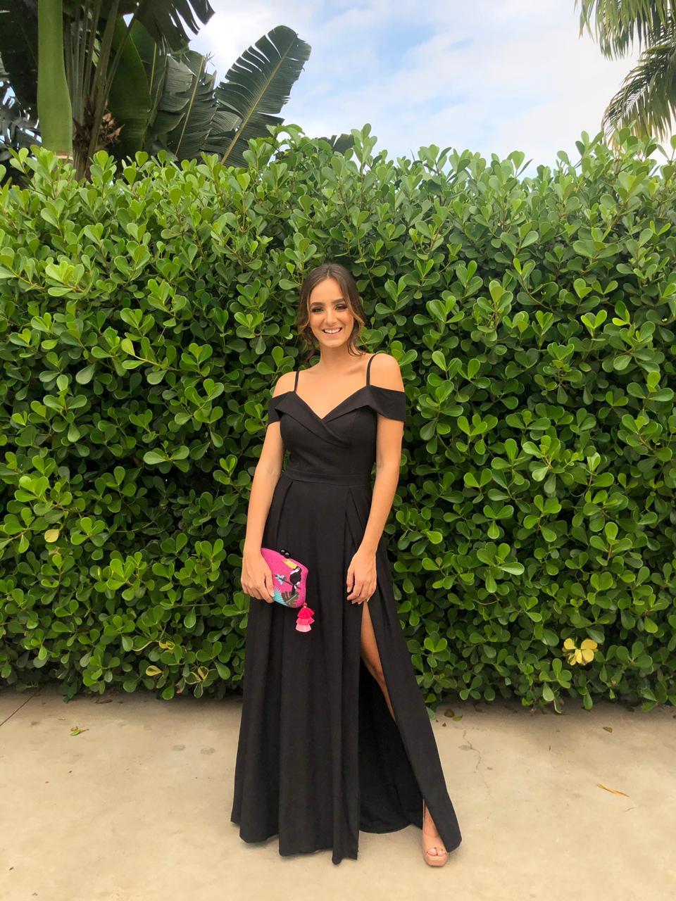 Vestido Nicarágua preto