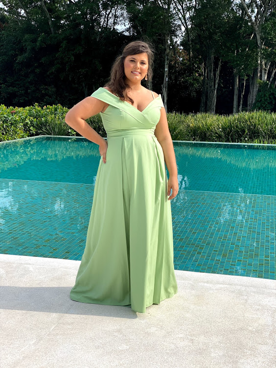 Vestido Nicarágua Verde Pistache