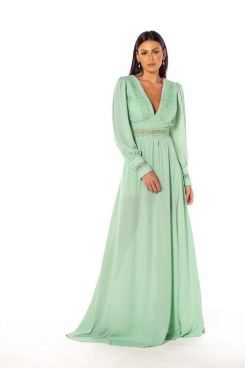 Vestido Nice Verde Menta