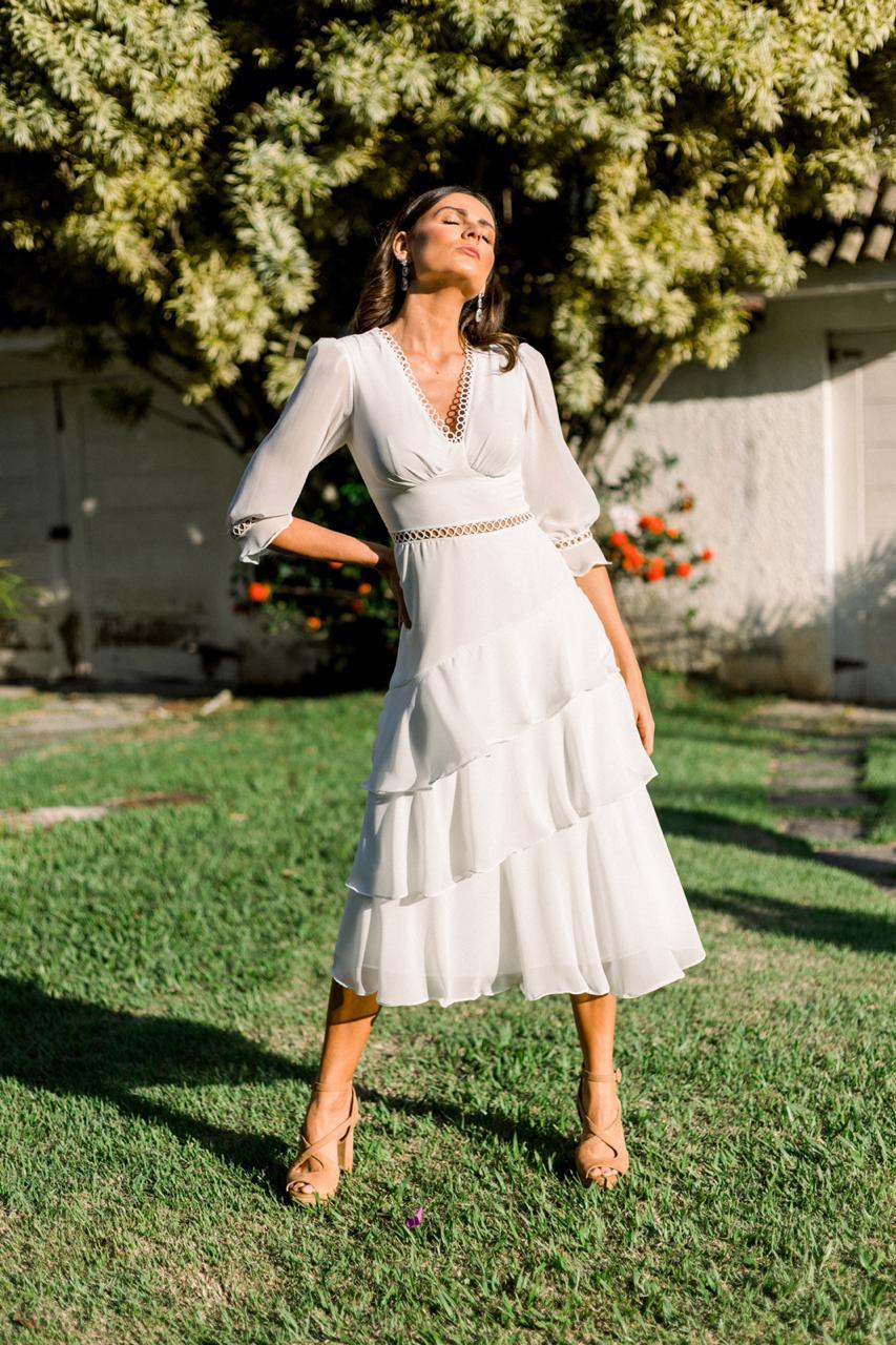 Vestido Noronha Branco