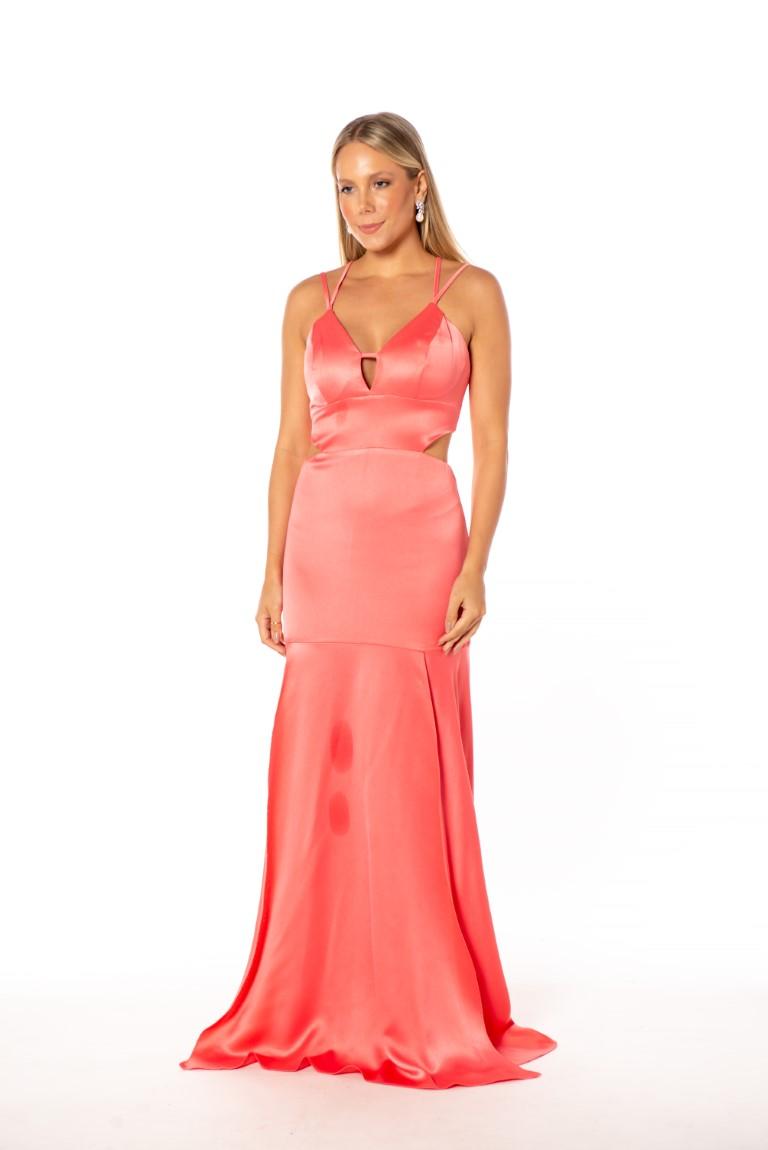 Vestido Noronha Coral