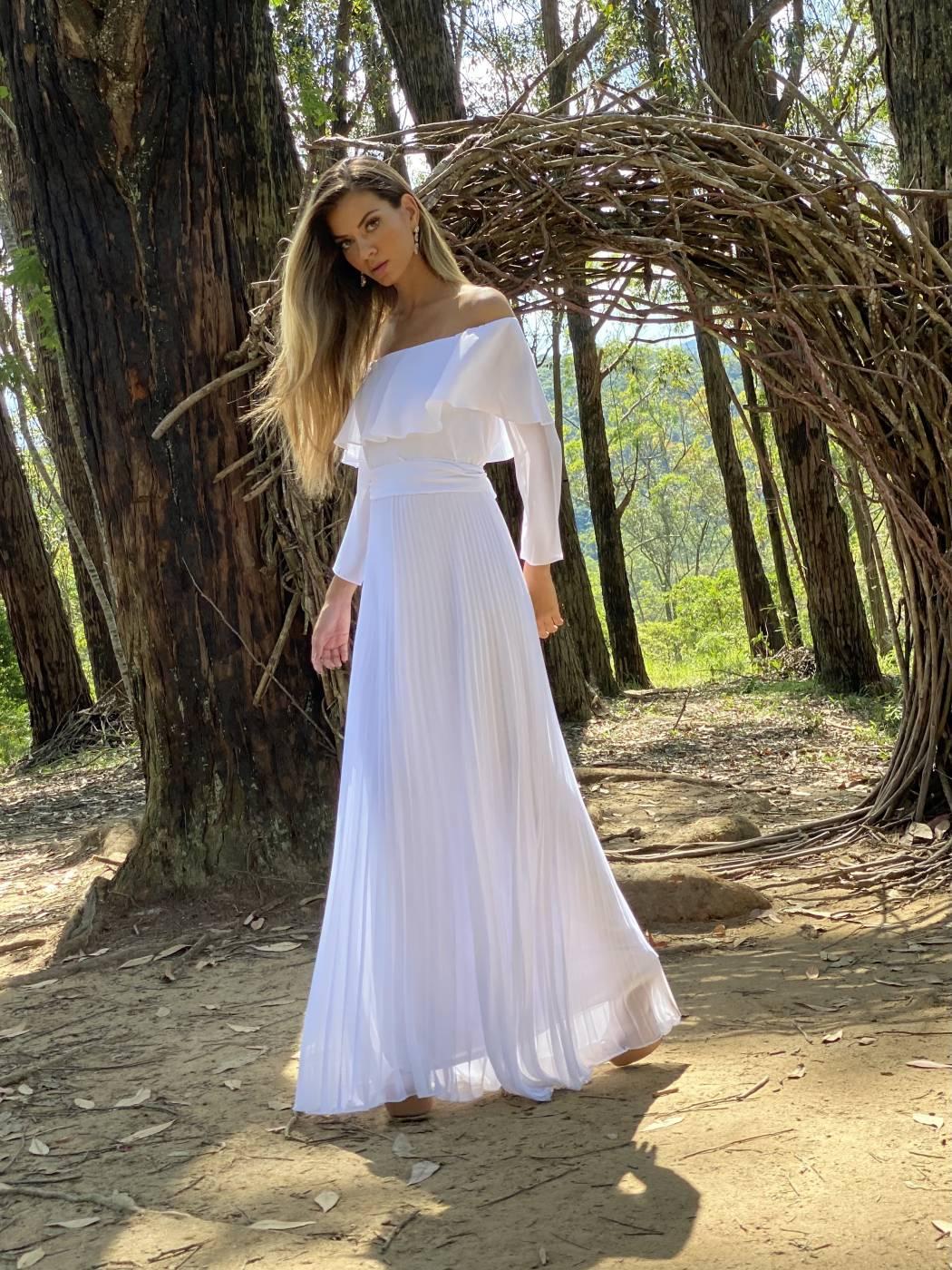 Vestido Nova york Branco