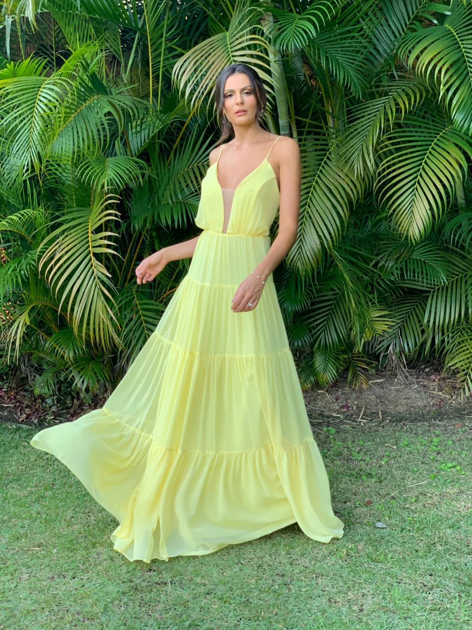 Vestido Óregon Amarelo