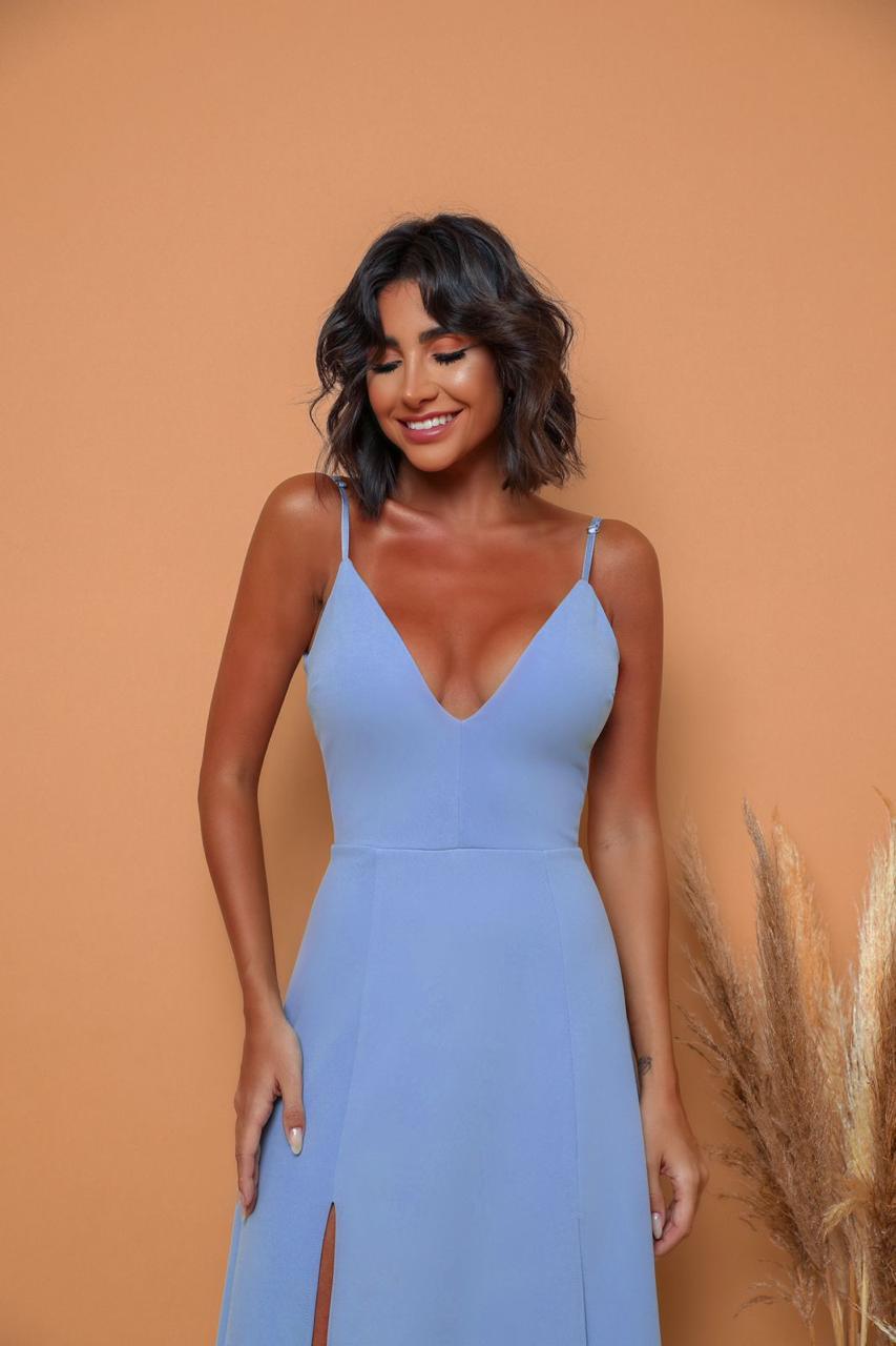 Vestido Panamá Azul Serenity
