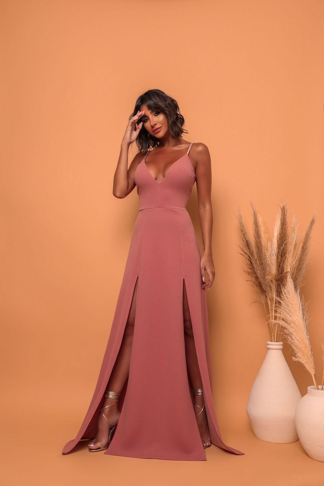 Vestido Panamá Rosé