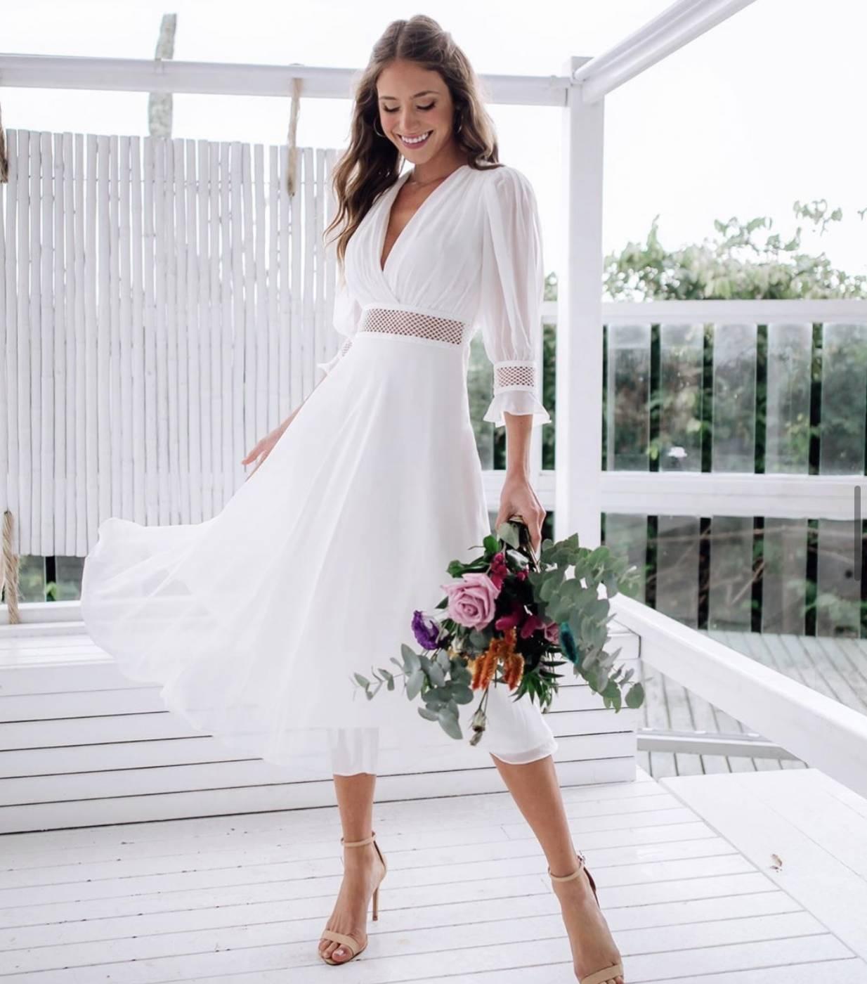 Vestido Pipa Branco