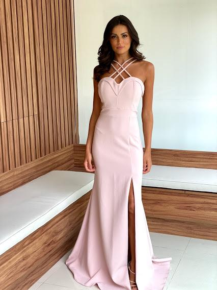 Vestido Porto Seguro Rose
