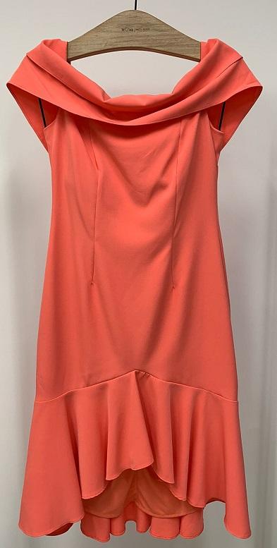 Vestido Roma Coral