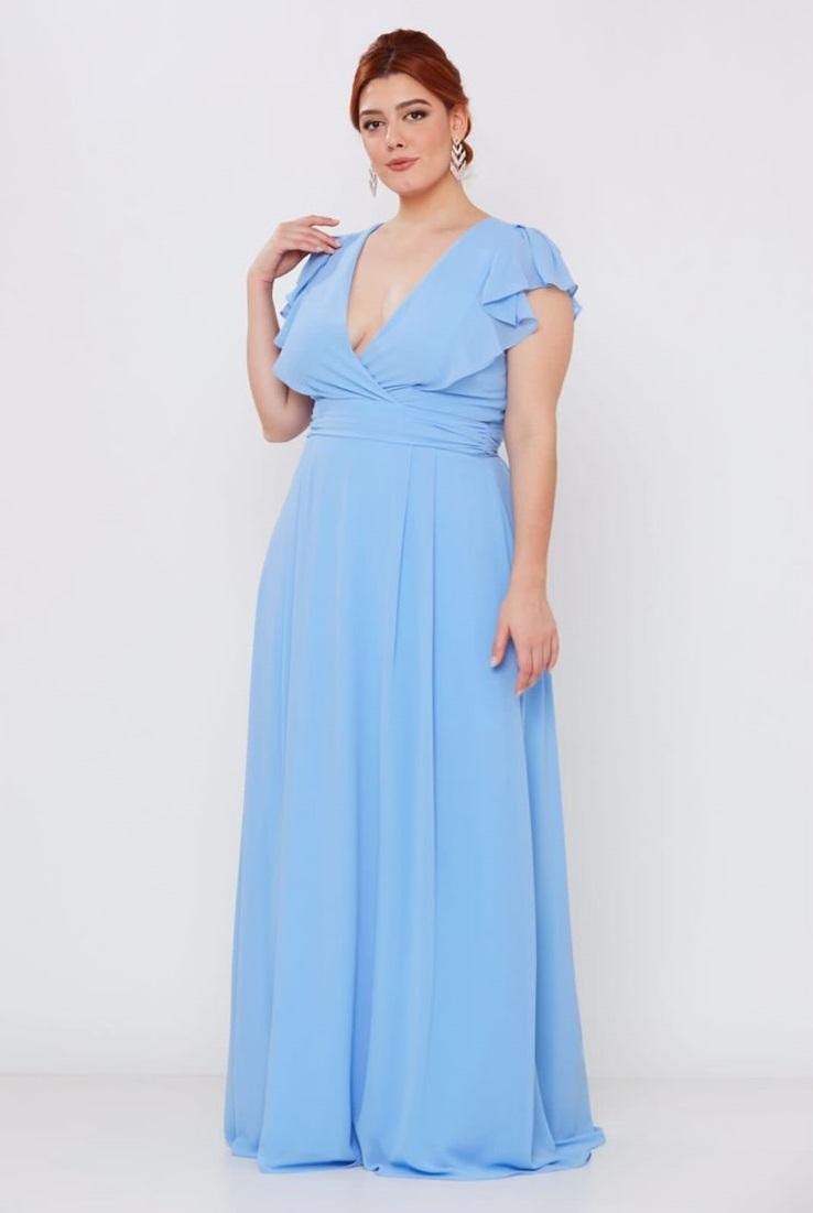 Vestido Salvador Azul Serenity