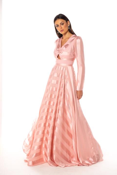 Vestido San Diego Rosé