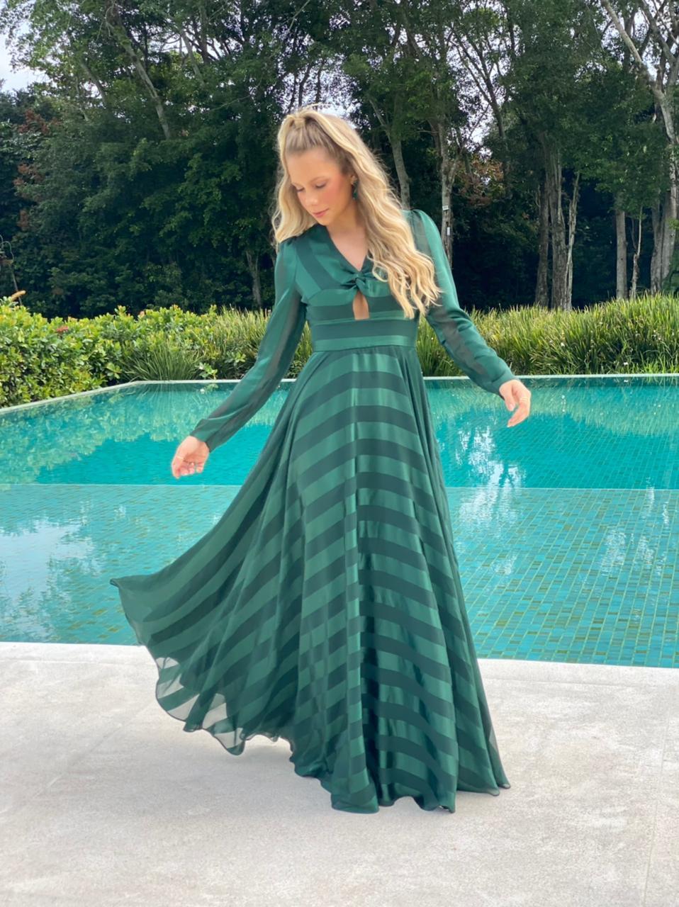 Vestido San Diego Verde